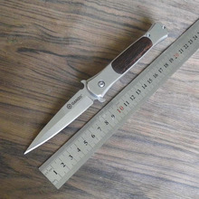 58-60HRC Ganzo G707 440C blade EDC Folding knife Survival Camping tool Hunting Pocket folding Knife tactical edc outdoor tool