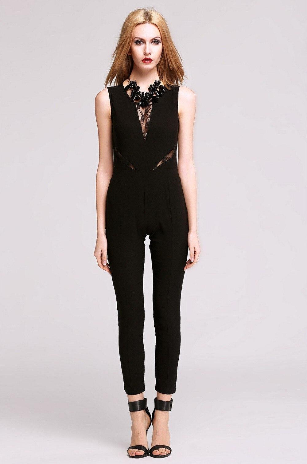 Popular Black Lace Jumpsuit-Buy Cheap Black Lace Jumpsuit lots ...