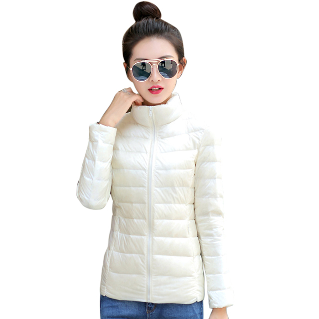 LASPERAL Winter Spring Red Down Coat New Arrival Hot Korean Women's Down Parkas Plus Size Pink  Autumn Women Down Jacket 3xl