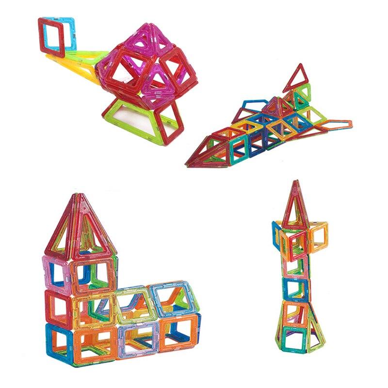 39PCs Enlighten Educational Magnetic Building Blocks Construction Early Learning Bricks Toys for Children Christmas Gift