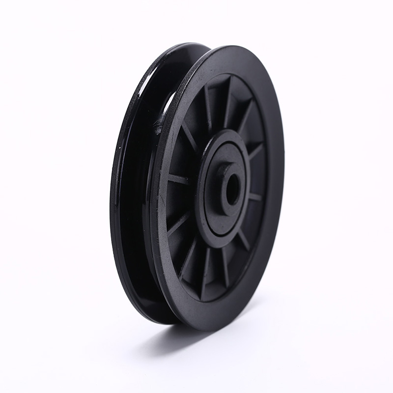 1PC Durable And Wearproof Abs Material Black Bearing Pulley Wheel Cable Gym Equipment Integrated Fitness Equipments 105mm image
