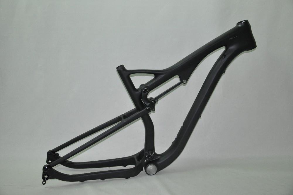 59145f5666b Dengfu Lightest Full Carbon Toray 29ER Full Suspension Mountain Bicycle  Frame Chinese black matt MTB Frame 29 inch QR Thru axles