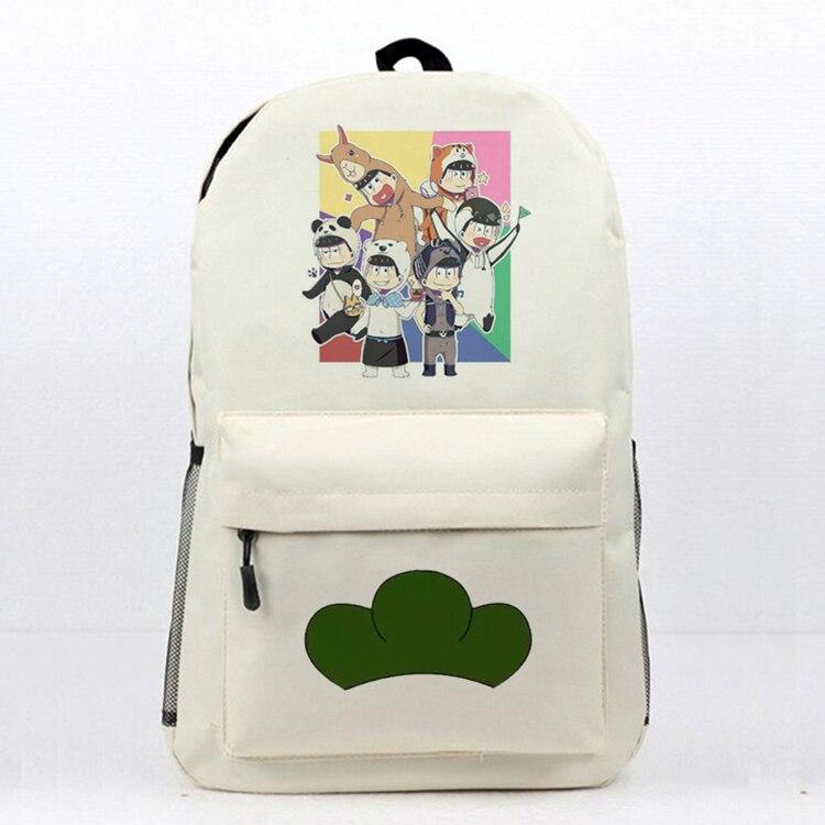 3e52f8d53667 Аниме г-н Осомацу школьная книга Сумка ежедневно рюкзак г-н Осомацу Печать  Путешествия