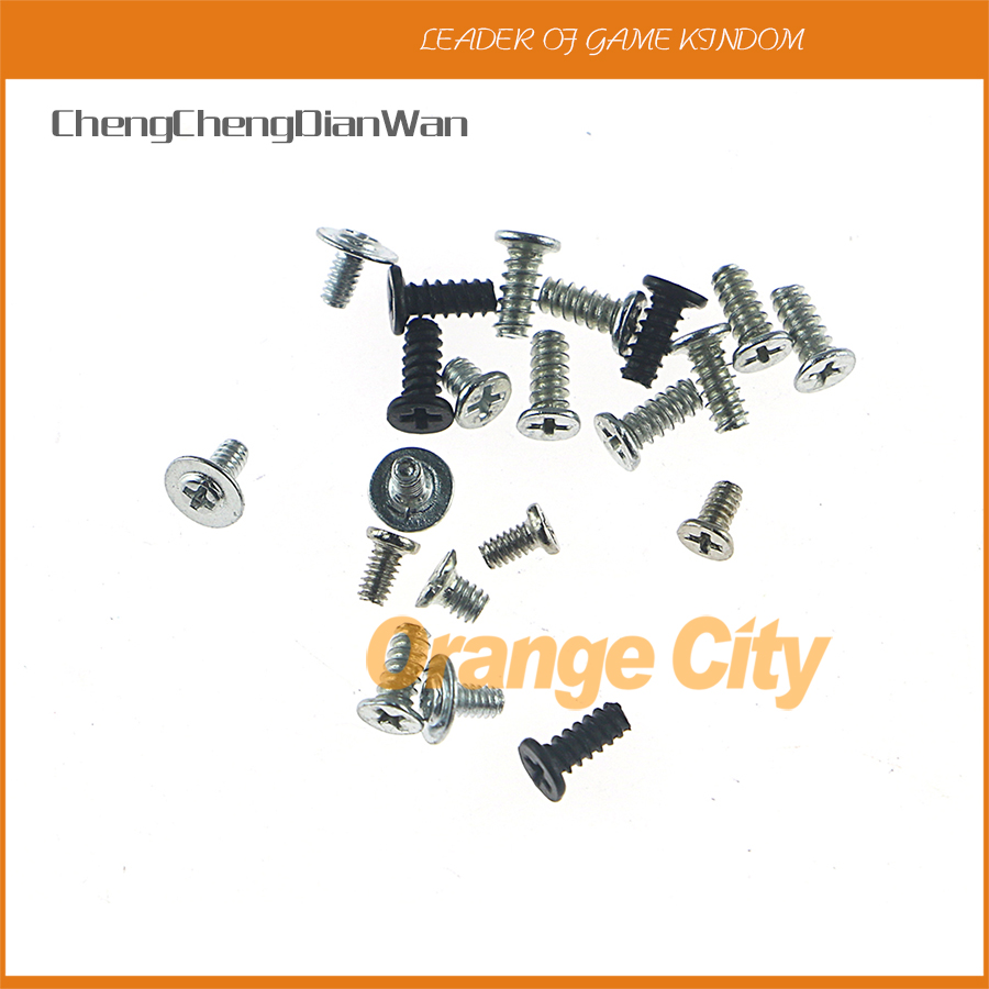 ChengChengDianWan For PSP1000 Screws Full Screw Set Repair Parts for Sony PSP 1000 1001 Replacement