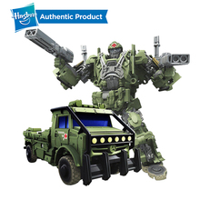 лучшая цена Hasbro Transformers Toys The Last Knight Premier Edition Voyager Class Autobot Hound Action Figure Collection Model Car Toy