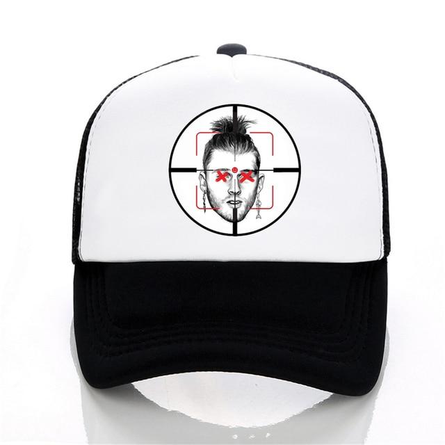 Eminem Killshot Machinegunkelly Baseball Cap For Men Women Hip Hop Dad Hat  Bone Snapback Cap Dropshipping 35de4e09e26