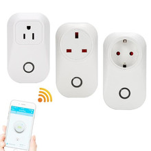 Sonoff S20 Wifi Wi-fi Distant Management Socket Swap Sensible Residence Energy Timer Plug EU US UK Commonplace By way of App Cellphone