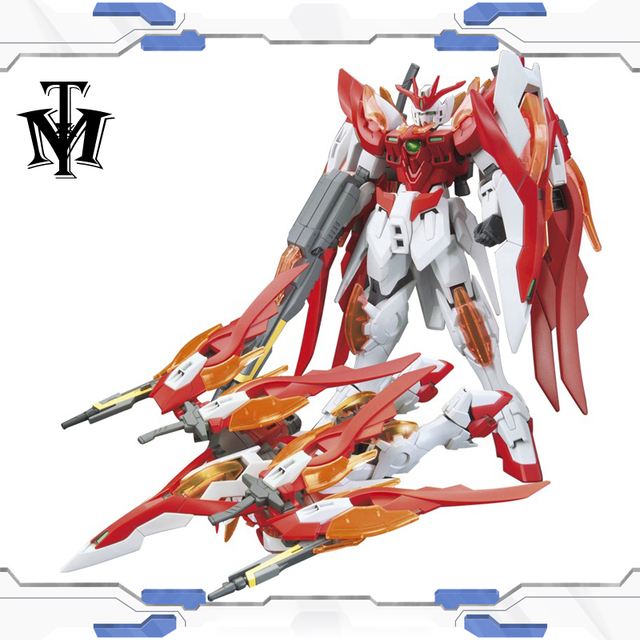 Anime Japan 1/144 Wing gundam zero Honoo Transformable model Puzzle assembled Robot hot kids toys Action Figure gunpla juguetes