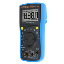 Digital Multimeter AN882B+ True-RMS Handheld Multimeter Auto Range AC/DC Digital Universal Meter Multimeters
