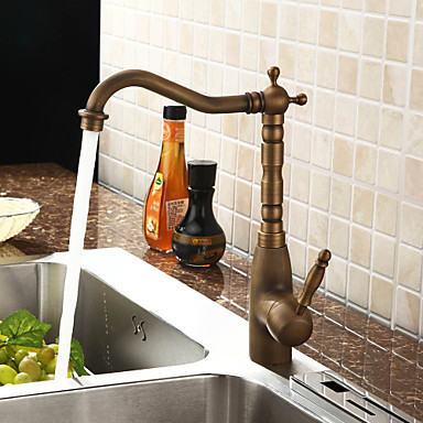 Centerset Antique Brass Pull Out Kitchen Sink Faucet Tap Mixer ,Torneiras Parede Pia Cozinha Grifos Cocina newly arrived pull out kitchen faucet gold sink mixer tap 360 degree rotation torneira cozinha mixer taps kitchen tap