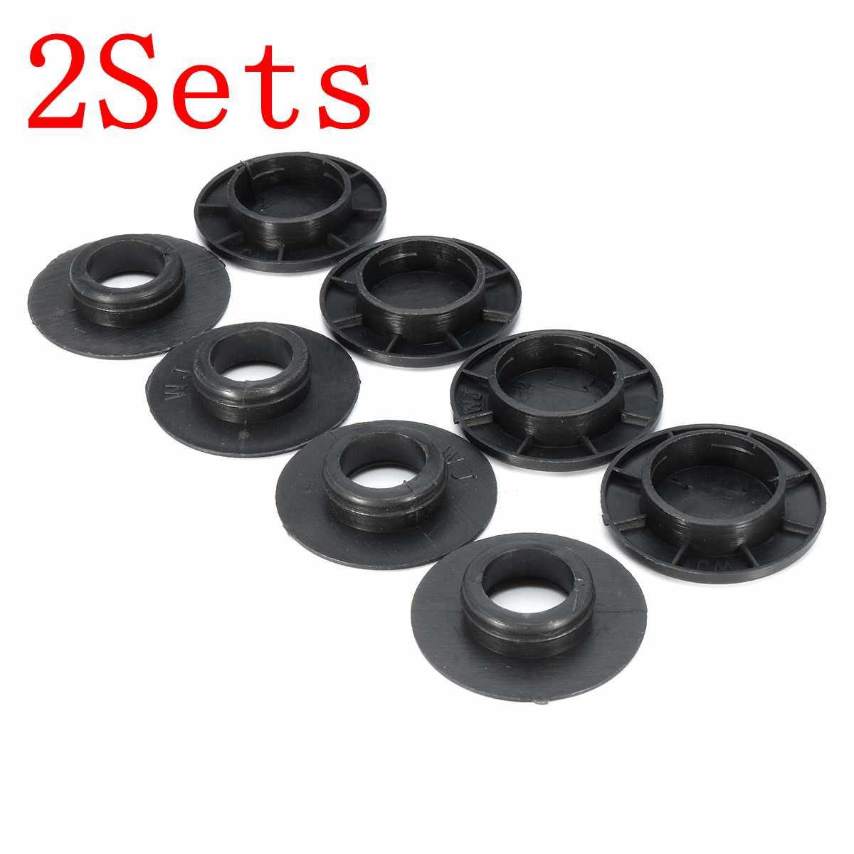 2 Sets Black Car Floor Mat Fixing Clips Holders BQ6680520 For MERCEDES /BENZ ...
