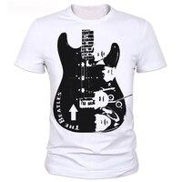 Guitar Man T Shirt Printing Metallica The Beatles Nirvana Guns N Roses Che Guevara T Shirt