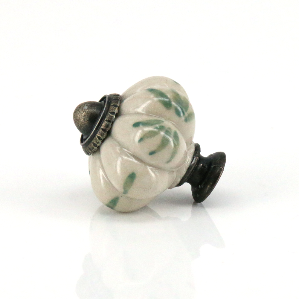Home & Garden Cooperative Hand Painted Ceramic Knob Multi-coloured Flowers Cabinet Cupboard Handle Emboss Home Improvement