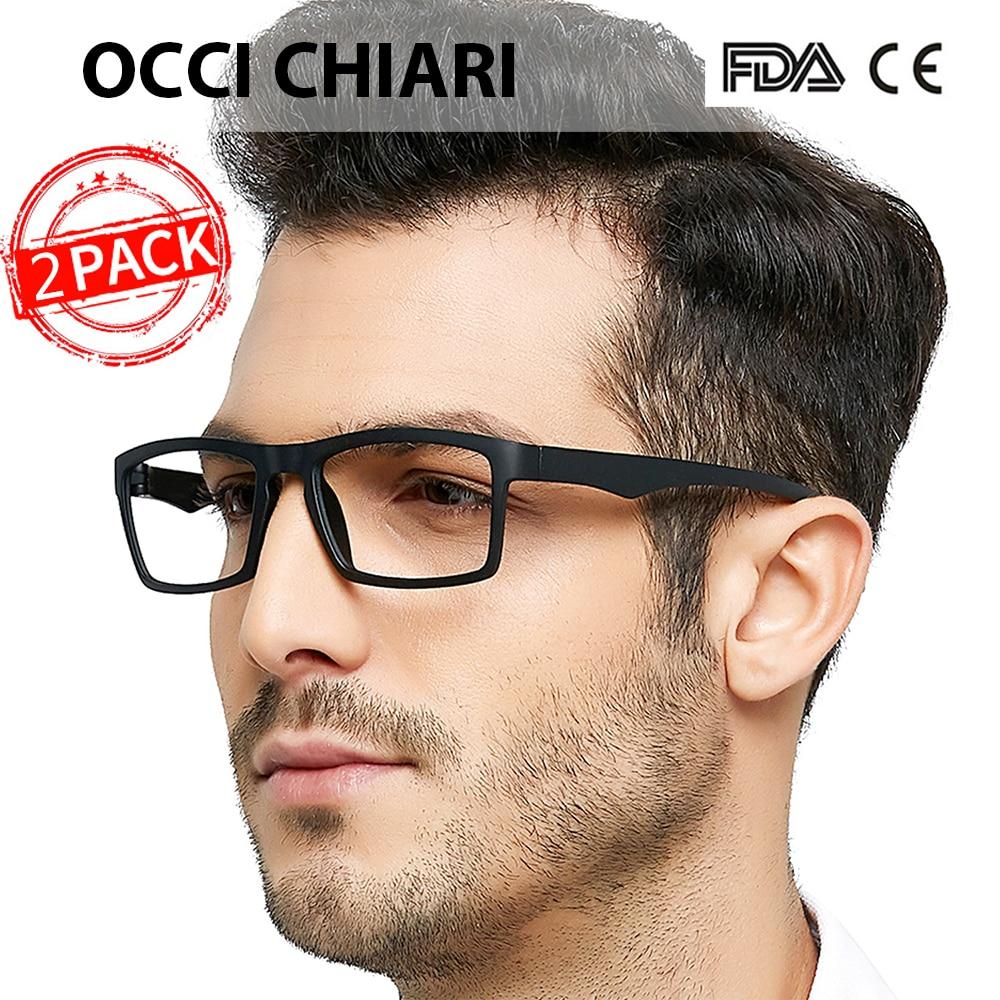 OCCI CHIARI Unbreakable Reading Glasses Men Anti-fatigue TR90 Ultralight Eyeglasses Frame Women+1.25 +1.75 +2.25 +2.5+2.75 +3.5