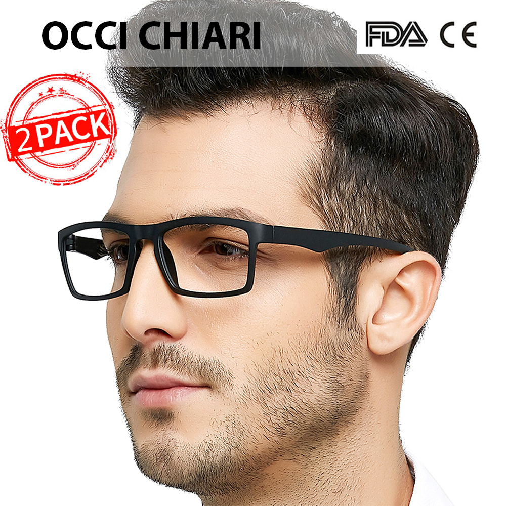 OCCI CHIARI Unbreakable <font><b>Reading</b></font> <font><b>Glasses</b></font> <font><b>Men</b></font> Anti-fatigue TR90 Ultralight Eyeglasses Frame Women+1.25 +1.75 +<font><b>2.25</b></font> +2.5+2.75 +3.5 image