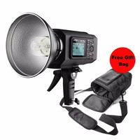 Godox AD600M Manual Version HSS 1/8000s 600W GN87 Outdoor Flash Light Godox Mount for Canon for Nikon 8700mAh Battery PB 600 bag