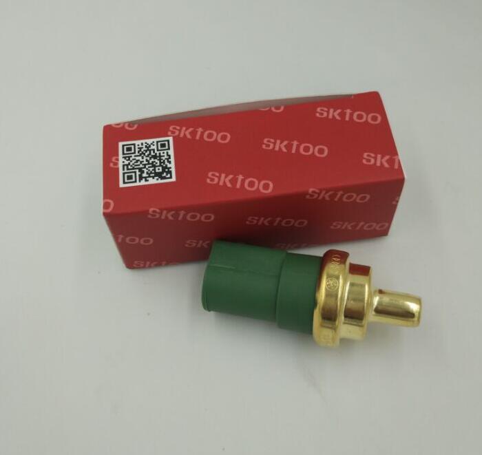 Kølevæsketemperatursensor Vandtempekontakt 4-ben til VW Jetta Bora Golf Passat Beetle A3 A4 A6 TT Octavia Leon 059919501A