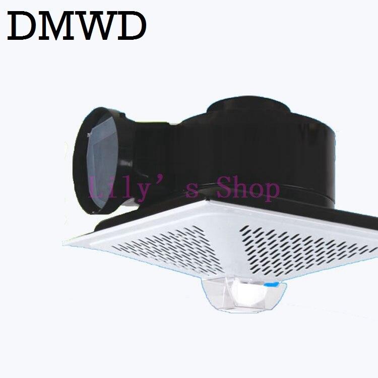 DMWD Mini oil smoke exhaust ventilator Small kitchen range hood ceiling hood ceiling fan rangehood exhaustfan fumes EU US plug cimm расширительный бак ere ce 100 л