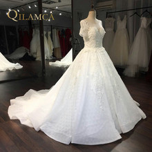 QILAMCA Ball Gown Wedding Dress 2018 Bride Dresses