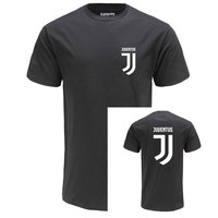 2017 New Juventus Print Women Men T Shirt Short Bianconeri Camiseta Fans Club T Shirt Casual