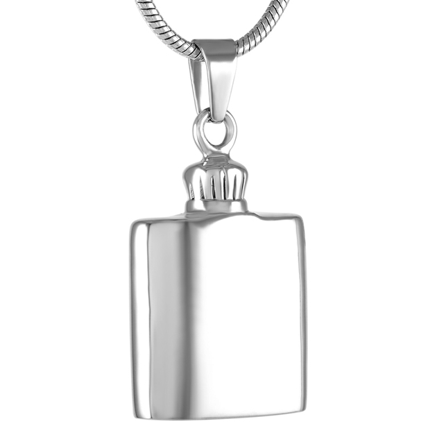 Ijd9269 cremation jewelry pendant necklaces manmalestainless steel ijd9269 cremation jewelry pendant necklaces manmalestainless steel hip flask shape memorial ashes aloadofball Choice Image