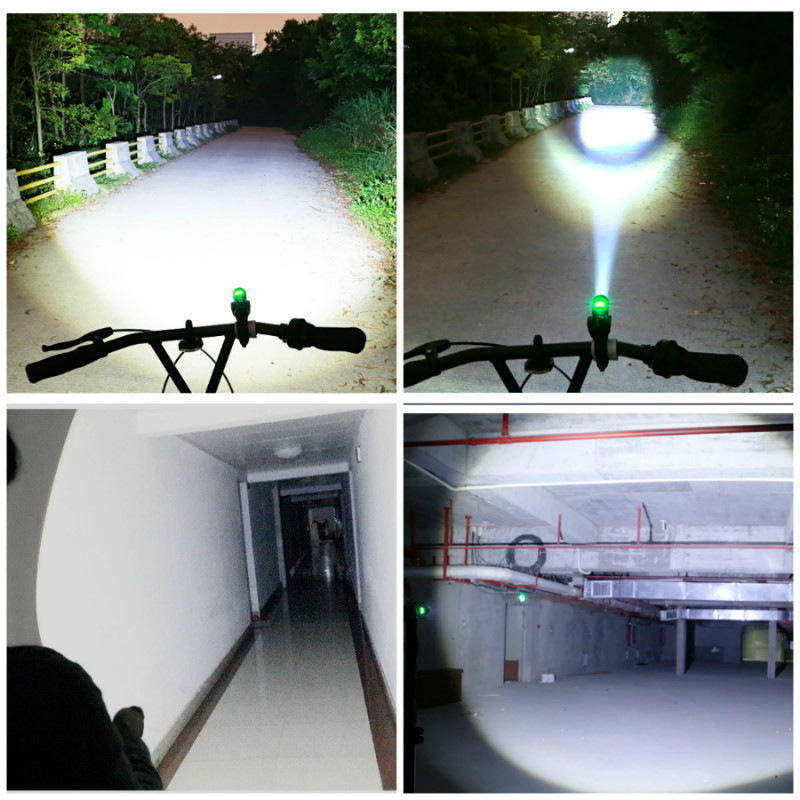 Lampe torche USB rechargeable puissante Baton télescopique USB lampe - Éclairage portable - Photo 6