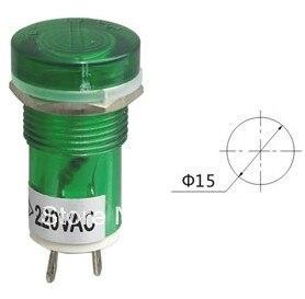 Indicator pilot light PL15-2(PL604) DC12V DC24V AC220V 15mm
