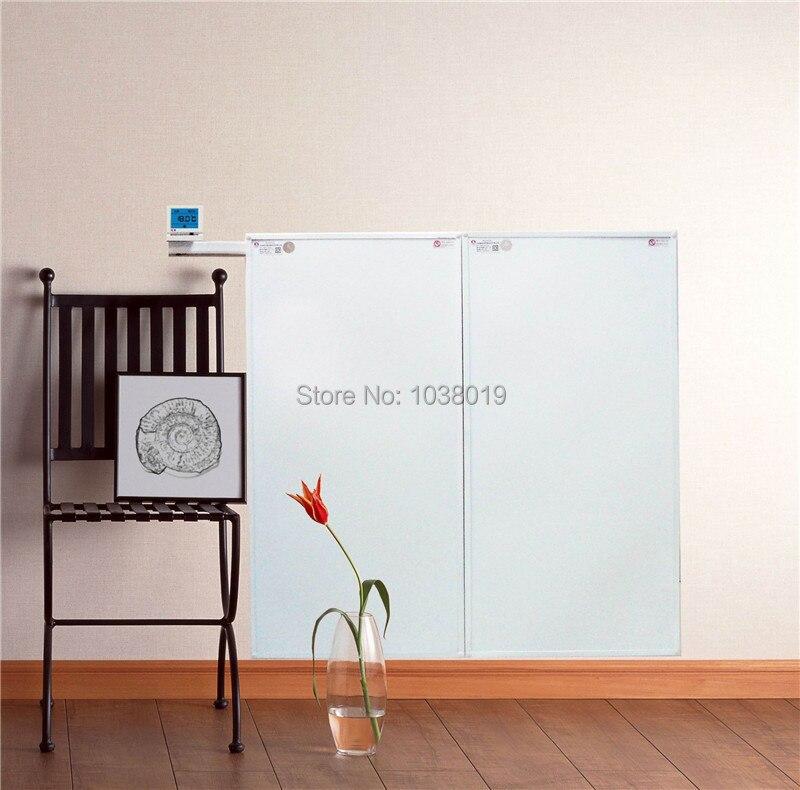 Ev Aletleri'ten Elektrikli Isıtıcılar'de YC6 10  6 adet/grup  süper ince  kızılötesi ısıtıcı paneli  karbon kristal panel ısıtıcı ev ofis için  yoga stüdyosu ısıtıcı çözümü