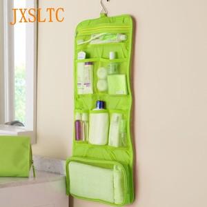 JXSLTC Women men Cosmetic Bag Travel Fol