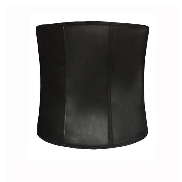 08f8c86e497 placeholder Tummy Control Tightening Steel Bone Men Corset Waist Slimming  Shapewear 3 Hooks Hot Rubber Latex Cincher