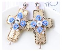 EH126 New Brand 2016 jewelry flowers aretes pendientes brincos boucles d'oreilles bijoux bijouterie stud earrings for women