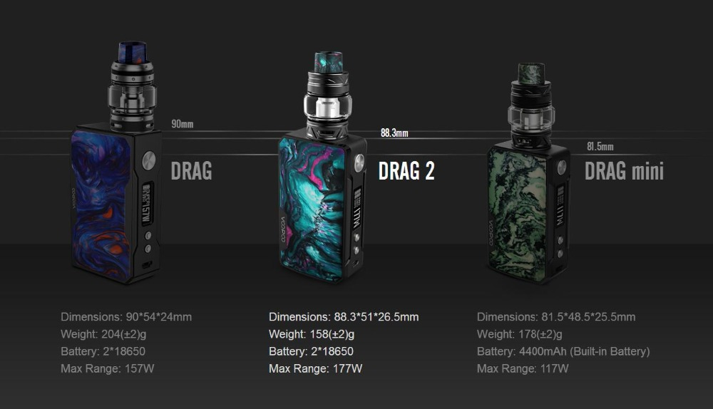 Voopoo Drag 2 177W TC Kit-12