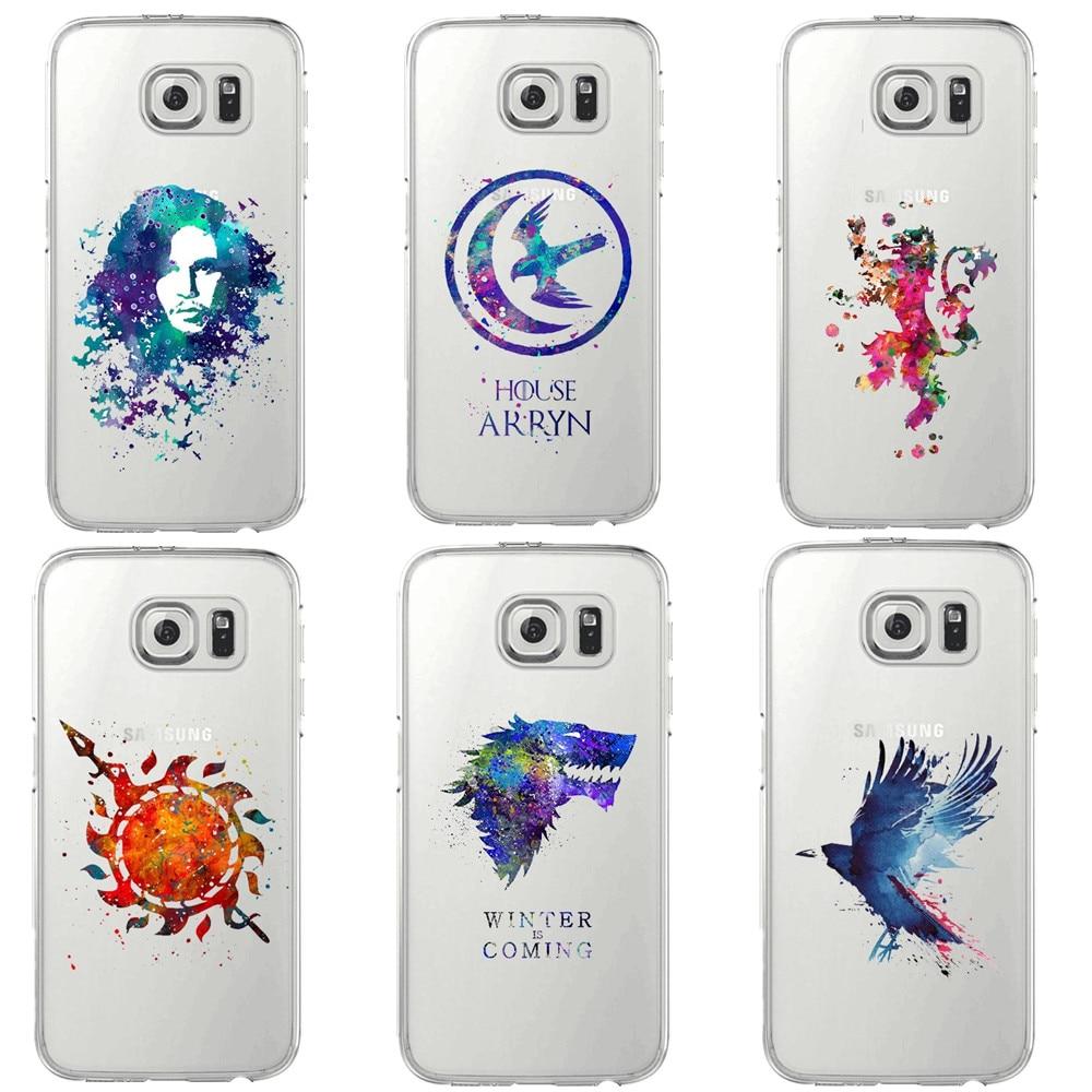 I AM NOT A PRINCESS I'M A KHALEESI Game Of Throne Soft TPU Phone Case Cover For Samsung Galaxy S5 S6 Edge S7 edge S8 Plus