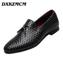 DXKZMCM Main Robe Formelle Chaussures De Luxe Hommes Appartements Slip-on Hommes oxfrods de Partie et De Mariage Chaussures Hommes Mocassins