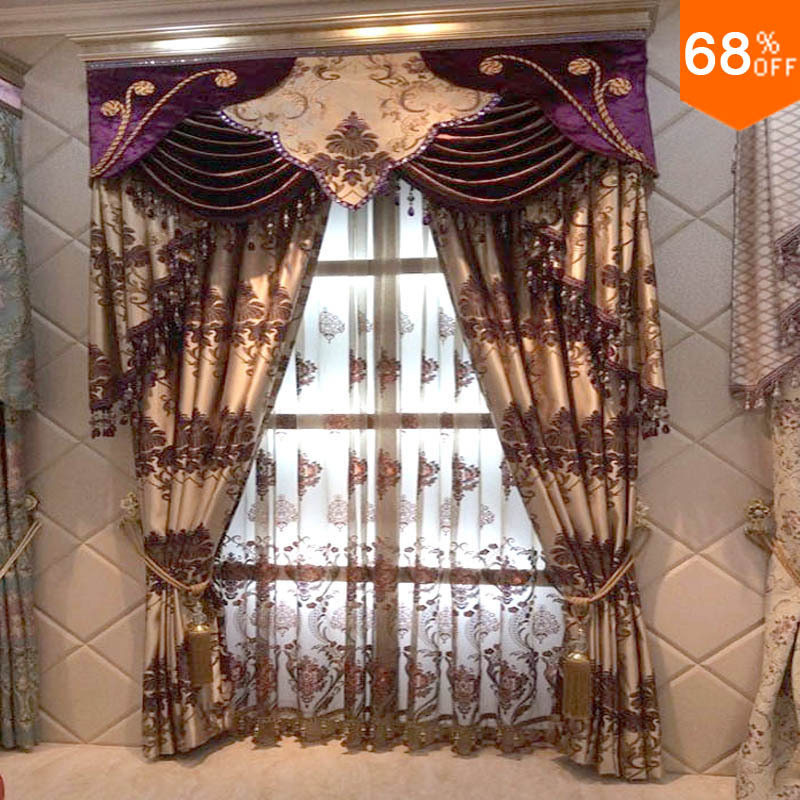 Buy magnetic curtain curtains for living - Rideau pour salon moderne ...