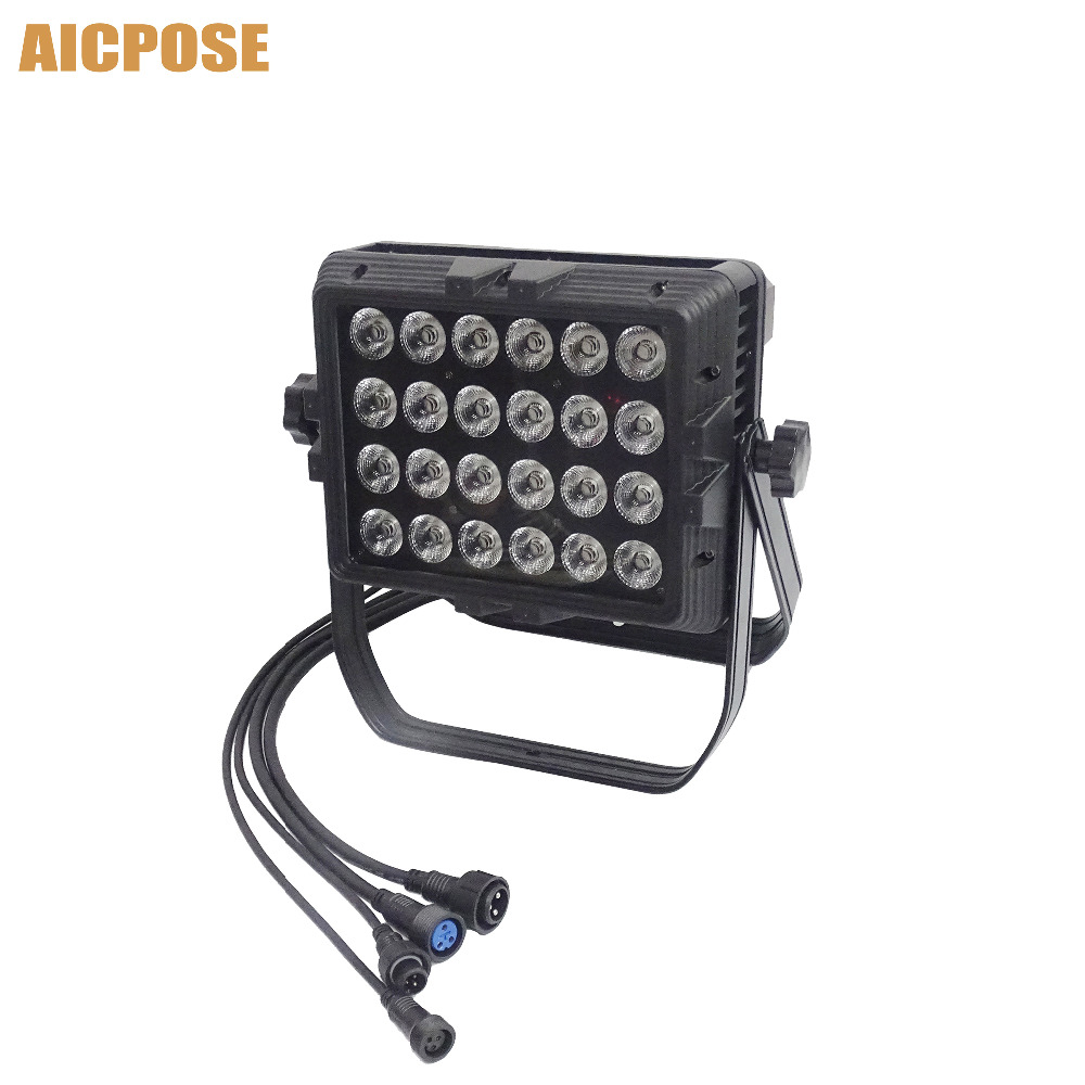 IP65 Waterproof Wall Washer 24x18w RGBWA UV 6in1/RGBW 4in1/RGBWA 5in1 Led Outdoor Rainproof Stage Light Square Par LightIP65 Waterproof Wall Washer 24x18w RGBWA UV 6in1/RGBW 4in1/RGBWA 5in1 Led Outdoor Rainproof Stage Light Square Par Light