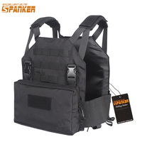 EXCELLENT ELITE SPANKER Outdoor Tactical Vest Plate Carrier AMP Military Vest with Utility Pouch Two in one Hunting Equipment