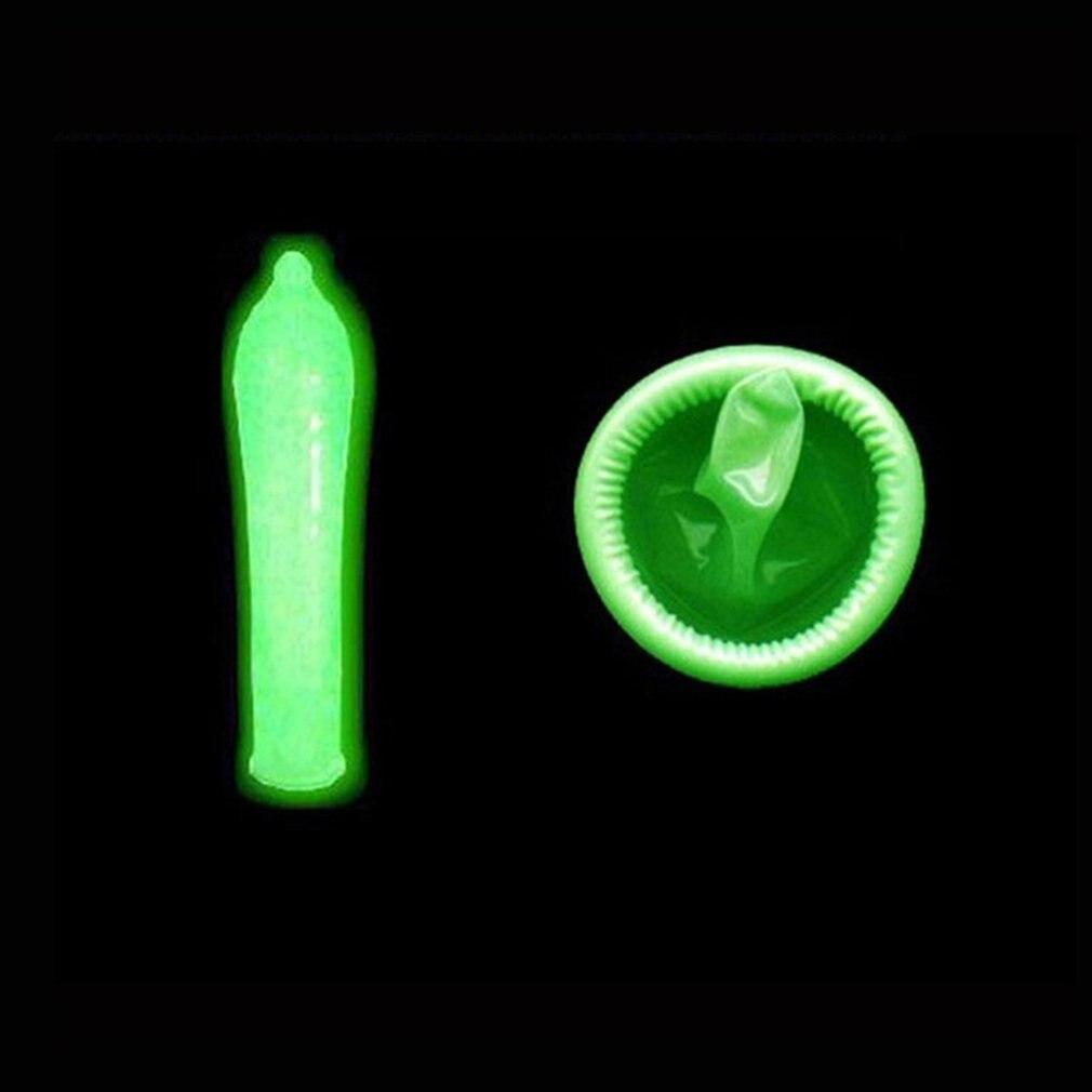 Super Thin Natural Latex Night Glowing Condom