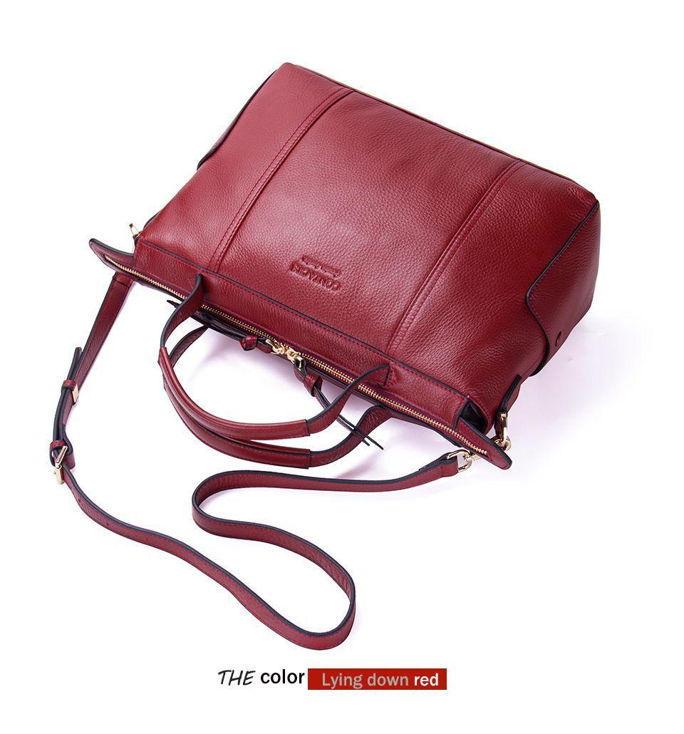 Female Bag Women Handbag Composite Messenger Bag Women Shoulder Bag Lady Genuine Leather Crossbody Bags For Women Cow - 4