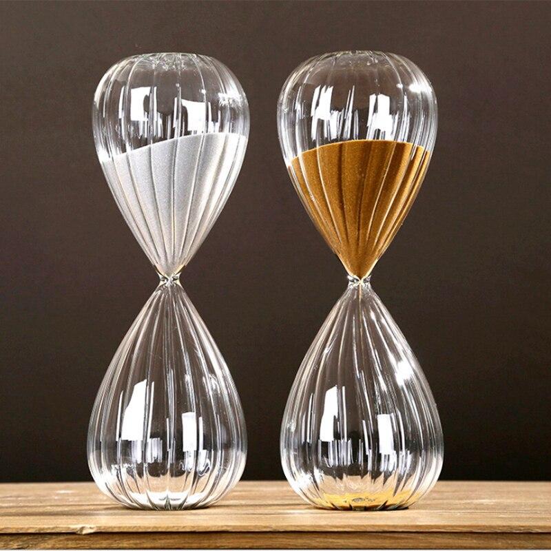 2018 créatif fil sable horloge Ampulheta sablier 60 Minutes décoratif articles ménagers caractéristiques Arts cadeaux 17
