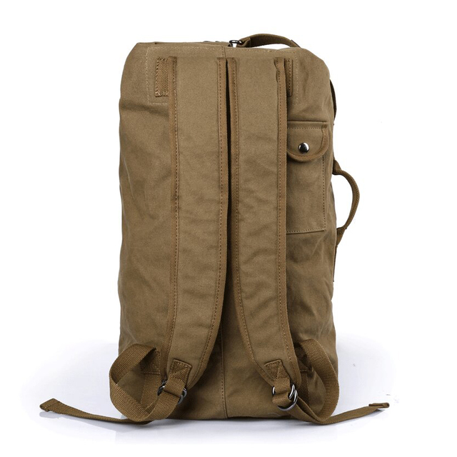 Hot Sale High Quality Promotion Fashion Designer Vintage Canvas Big Size Men Travel Bags Large Capacity Luggage Backpacks DB26