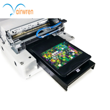 CE approved A3 desktop dtg direct to t-shirt printing machine t-shirt printer