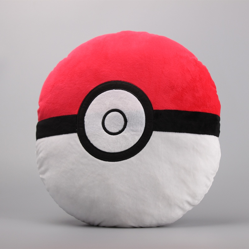 Anime  Go Quick Ball ball Plush Pillow Stuffed Soft Toy Dolls Kids Birthday Gift Big Size 13 33 CM mymei pokemon pokeball go ultra soft pillow decor pillow soft plush doll