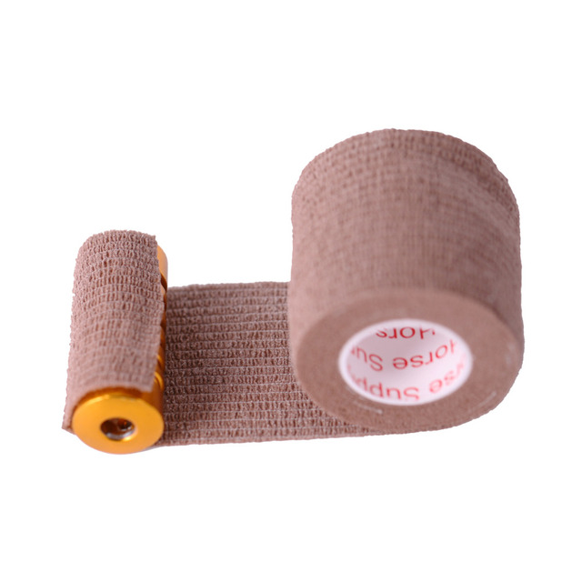 1 Roll 5cm Wide Tattoo Self Adhesive Elastic Bandage Wrap for Tattoo Strip Tubes Sports Tennis Elbow Bandage Tattoo Accessories 3