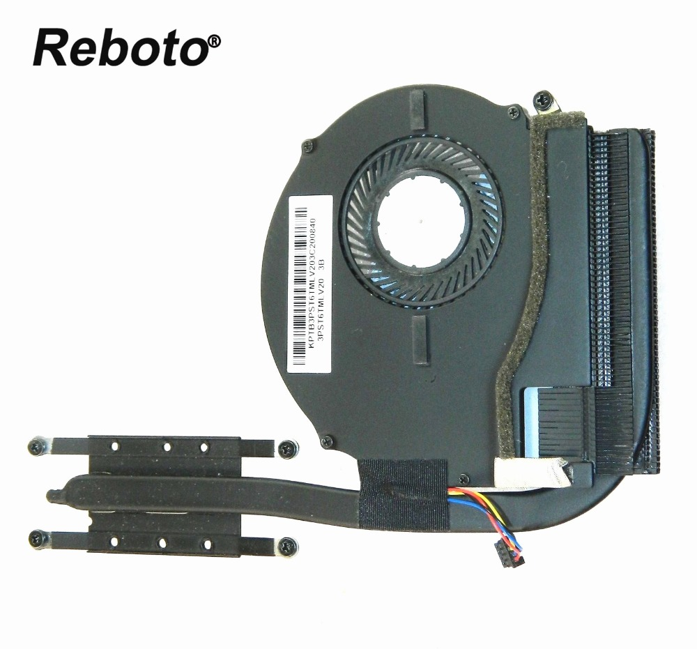 Reboto Original For LENOVO IDEAPAD FLEX 14 Laptop Cooler Radiator HeatSink With FAN P N 3PST6TMLV20