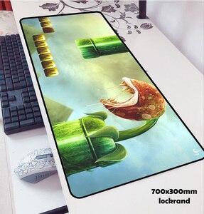 Image 4 - Mario alfombrillas de ratón locrkand para ratón, alfombrilla para ratón de ordenador portátil, 70x30cm, para gaming, para teclado, portátil