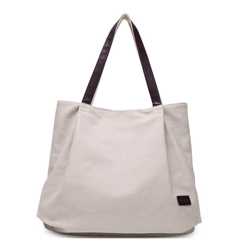Fashion Canvas Tote Bag Women Handbag Shoulder Bags Messenger Bag Casual Hobos B