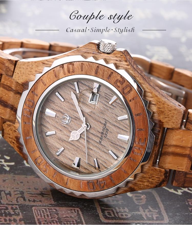 Xinboqin marca woden relógio japão amantes de