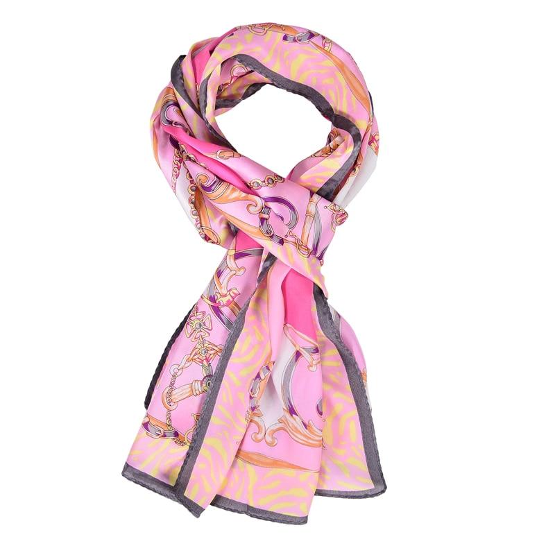 SALUTTO 100% Natural Silk Scarves Women Fashion Flower ...