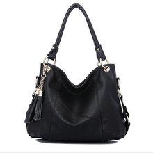 2017 New Leather Bag Women Handbags Tassel Female Bag Crossbody Women's Shoulder Bags Ladies Casual Tote Sac A Maine